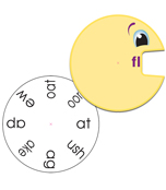 Word Wheels: Beginning Blends Curriculum Cut-Outs Product Image