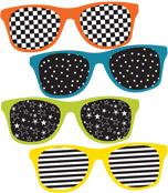 School Pop Sunglasses Mini Cut-Outs Product Image