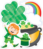 St. Patrick's Day Cut-Outs Product Image