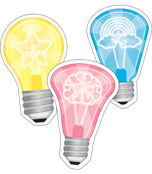 Light Bulbs Cut-Outs Product Image