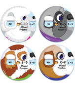 EZ-Spin: Multiplication Facts Manipulative Product Image
