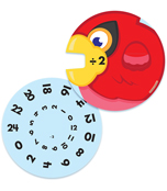 EZ-Spin: Division Facts Manipulative Product Image