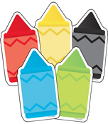Chunky Crayons Cut-Outs Product Image