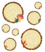 Wood Slices Printable Cut-Outs Product Image