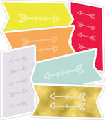 Aim High Arrows Cut-Outs Product Image