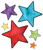 Stars Printable Cut-Outs Product Image