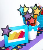 Stars Assorted Mini Cut-Outs Product Image