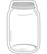 Mason Jars Cut-Outs Product Image