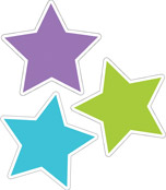 Color Stars Cut-Outs Product Image