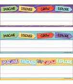 Nature Explorers Printable Nameplates Product Image