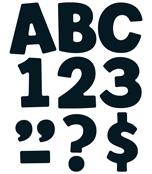 Black EZ Letters Product Image