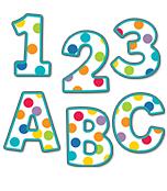 4 inch Color Me Bright   EZ Letters Product Image