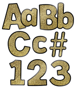 Gold Glitter Combo Pack EZ Letters Product Image