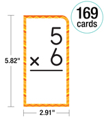Multiplication All Facts through 12 Flash Cards Product Image
