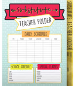 Aim High Substitute Teacher  Folder Product Image