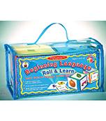 Beginning Language Roll & Learn Pocket Cubes Board Game Product Image
