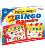 Picture Words Bingo Board Game Product Image