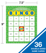 Sight Words Bingo Board Game Product Image