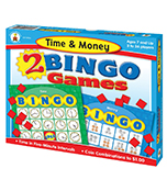 Time & Money Bingo Board Game Product Image
