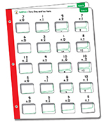Math Windows Additions Learning Cards Learning Cards Product Image