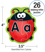 Ladybug Letters Board Game Product Image