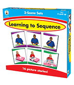 Learning to Sequence 3-Scene Board Game Product Image