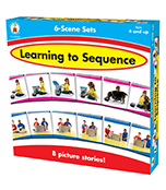 Learning to Sequence 6-Scene Board Game Product Image