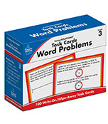 Task Cards: Word Problems Learning Cards Product Image