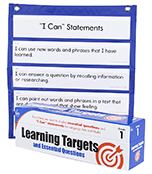Learning Targets Cards and Pocket Chart Starter Set Product Image