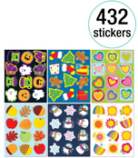Seasonal Sticker Collection Product Image