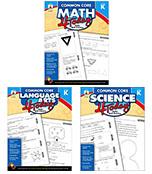 Common Core 4 Today Grade K Workbook Bundle Product Image