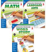 Interactive Notebooks Math, Language Arts & Word Study Resource Book Bundle Product Image