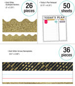 Sparkle + Shine Gold  Classroom Collection Product Image