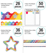 Sparkle + Shine Rainbow Classroom Collection Product Image