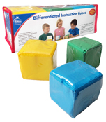 Differentiated Instruction Cubes Manipulative Product Image