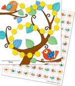 Boho Birds Mini Incentive Charts Product Image