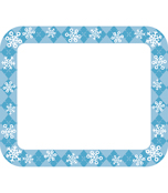 Snowflakes Name Tags Product Image
