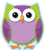 Colorful Owl Notepad Product Image