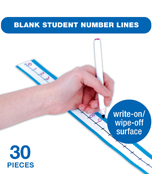 Blank Student Number Lines Manipulative Product Image