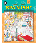 Teach Them Spanish! Resource Book Product Image