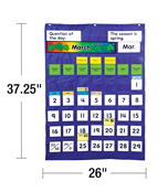 Complete Calendar and Weather Pocket Chart Product Image