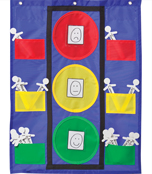 Stoplight Pocket Chart Product Image