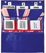 Deluxe Counting Caddy Pocket Chart Product Image