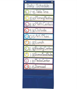 Deluxe Scheduling Pocket Chart Product Image