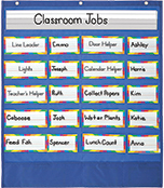 Classroom Helpers Pocket Chart Product Image
