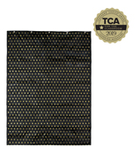 Essential: Gold Polka Dot Pocket Chart Product Image