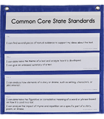 The Complete Common Core State Standards Kit for Language Arts Pocket Chart Cards Product Image