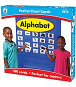 Alphabet Pocket Chart Cards Product Image