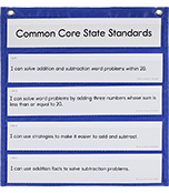The Complete Common Core State Standards Kit Pocket Chart Cards Product Image