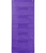 File Folder Storage: Purple Pocket Chart Product Image